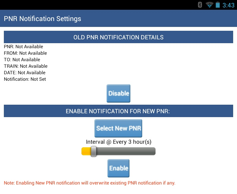 pnr status on mobile