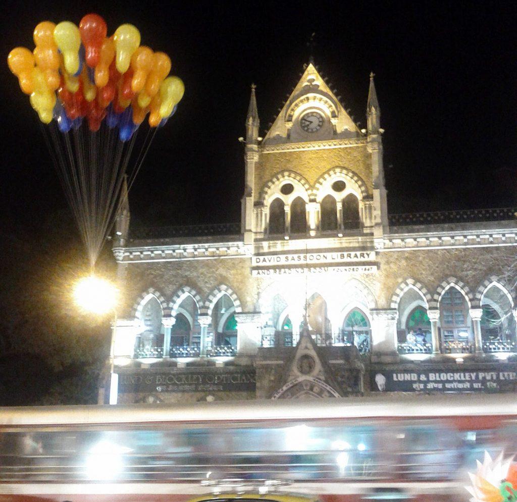 Kala Ghoda Festival Mumbai Night