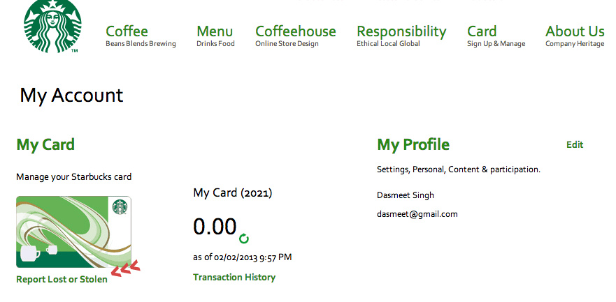 My Account | Starbucks Coffee Company.png