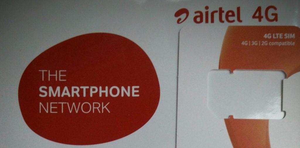 local 4G LTE sim in India