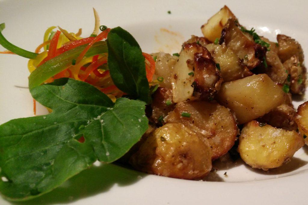 Roasted Garlic Potato - In room dining