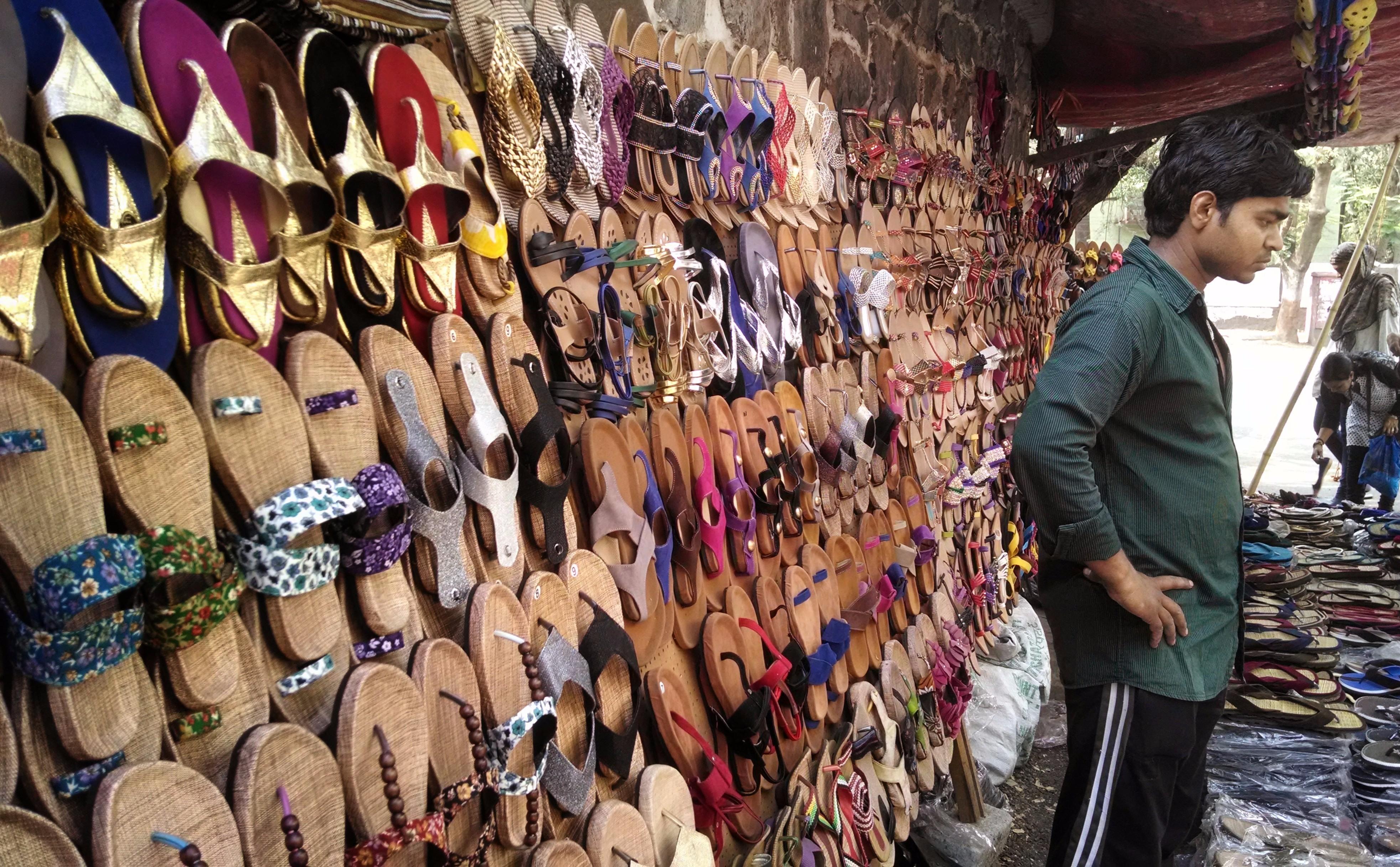 Street Shopping at Koregaon Park , Pune