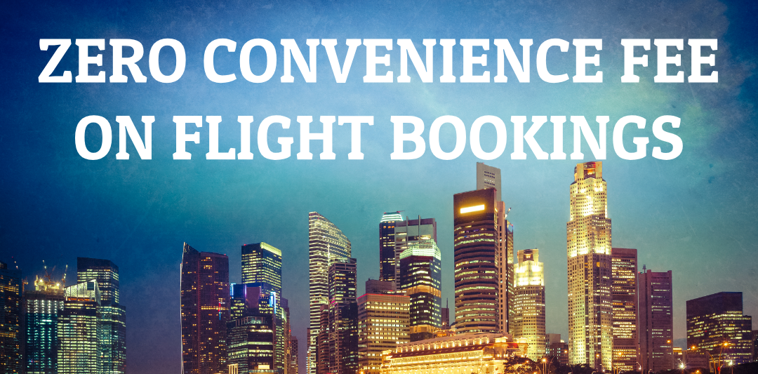 5 Sites with Zero Convenience Fee on Flight Bookings